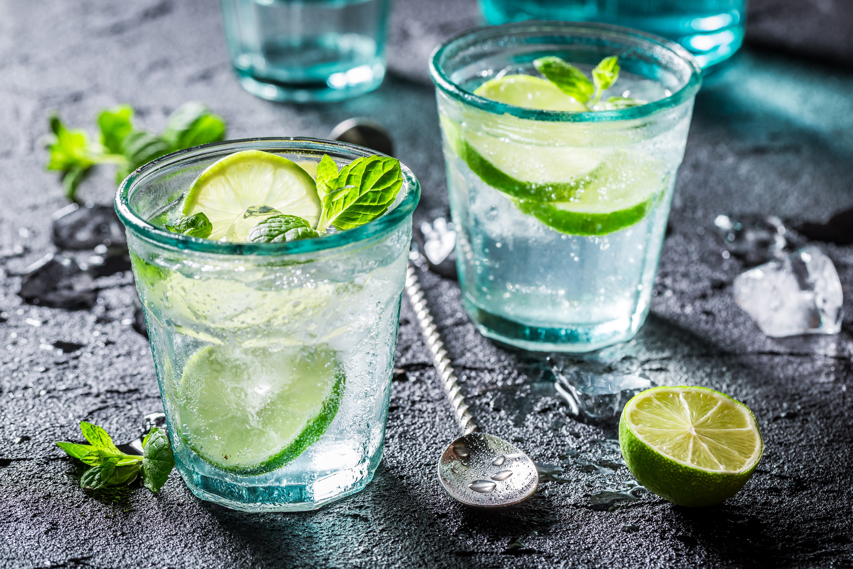 Summery Lime Soda Water Recipe