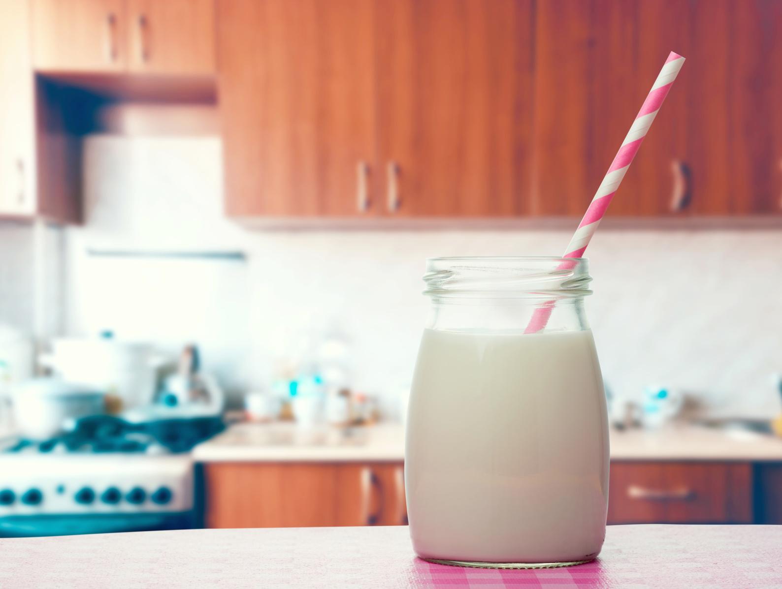 Sugar-free Strawberry Flavoured Milk