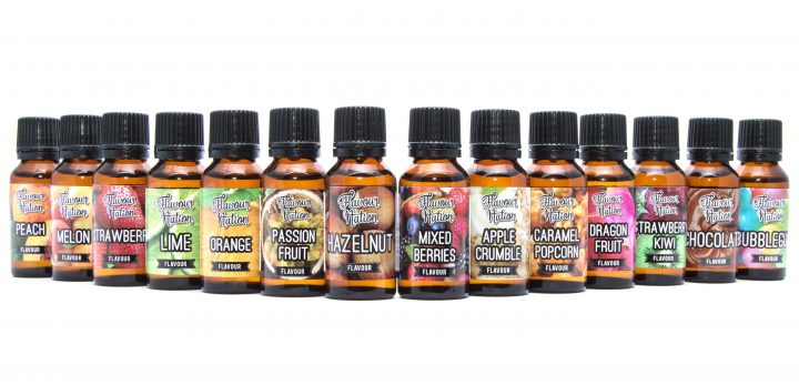 Sugar-free flavour nation range