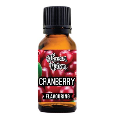 cranberry flavoured food flavouring