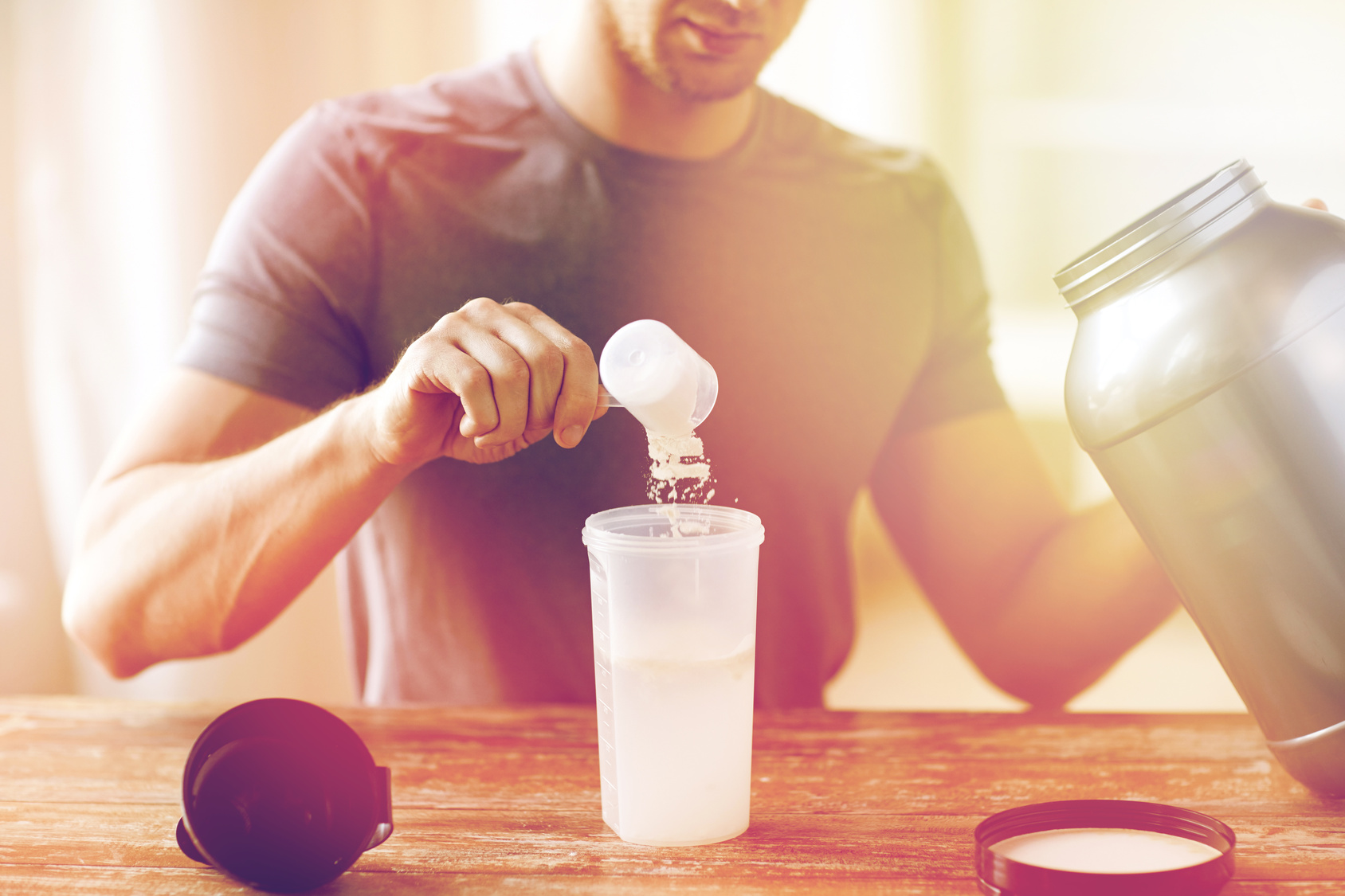Flavour your average-tasting protein shake without adding calories