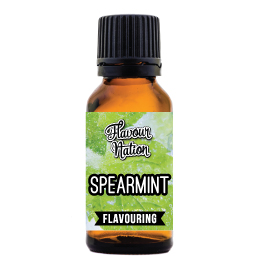 Spearmint flavoured food flavouring