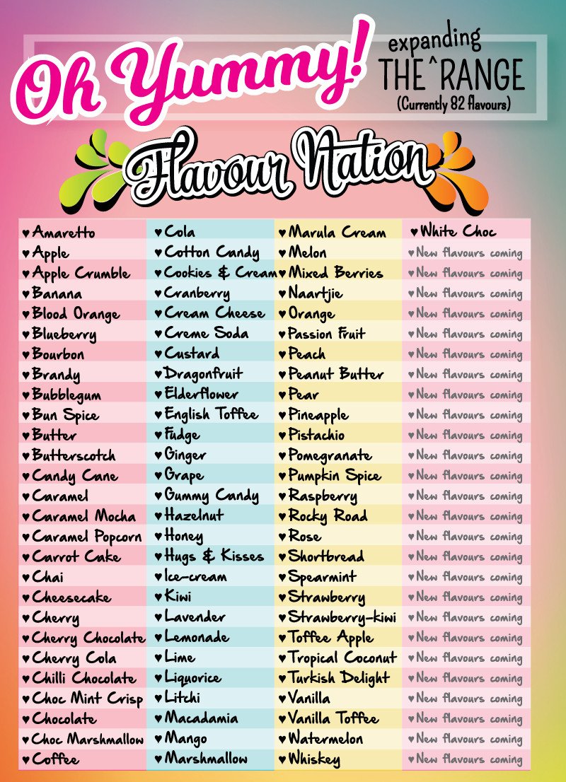 Flavour Nation food flavouring flavours